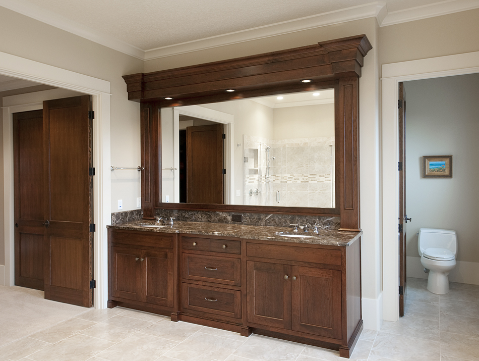 product details master bathroom vanity and finished soffit aura rh auracabinetry com quality bathroom vanity units quality bathroom vanities for sale